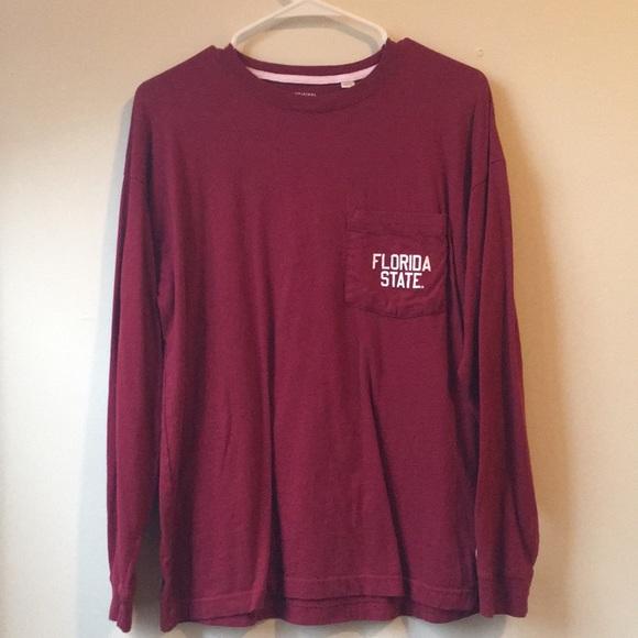 collegiate outfitters Tops - FSU Long Sleeve Tee